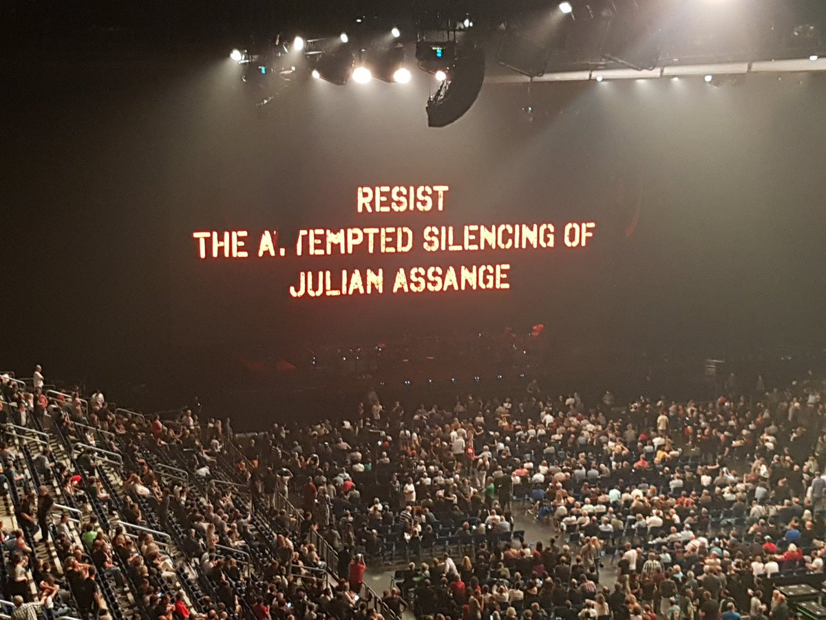 Image result for Roger Waters Assange