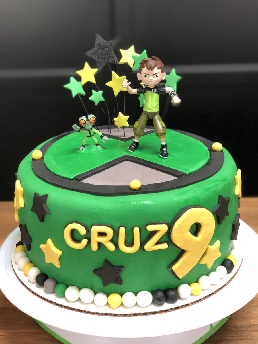 Jessilala On Twitter Ben10 Themed Birthday Cake Ben10