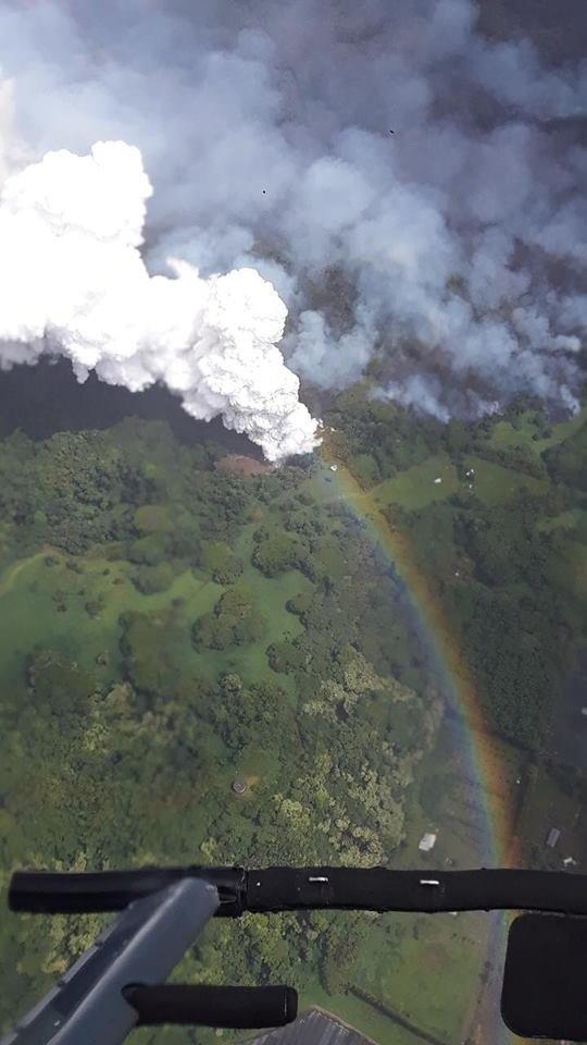 Lava Evaporates Hawaii's Largest Lake