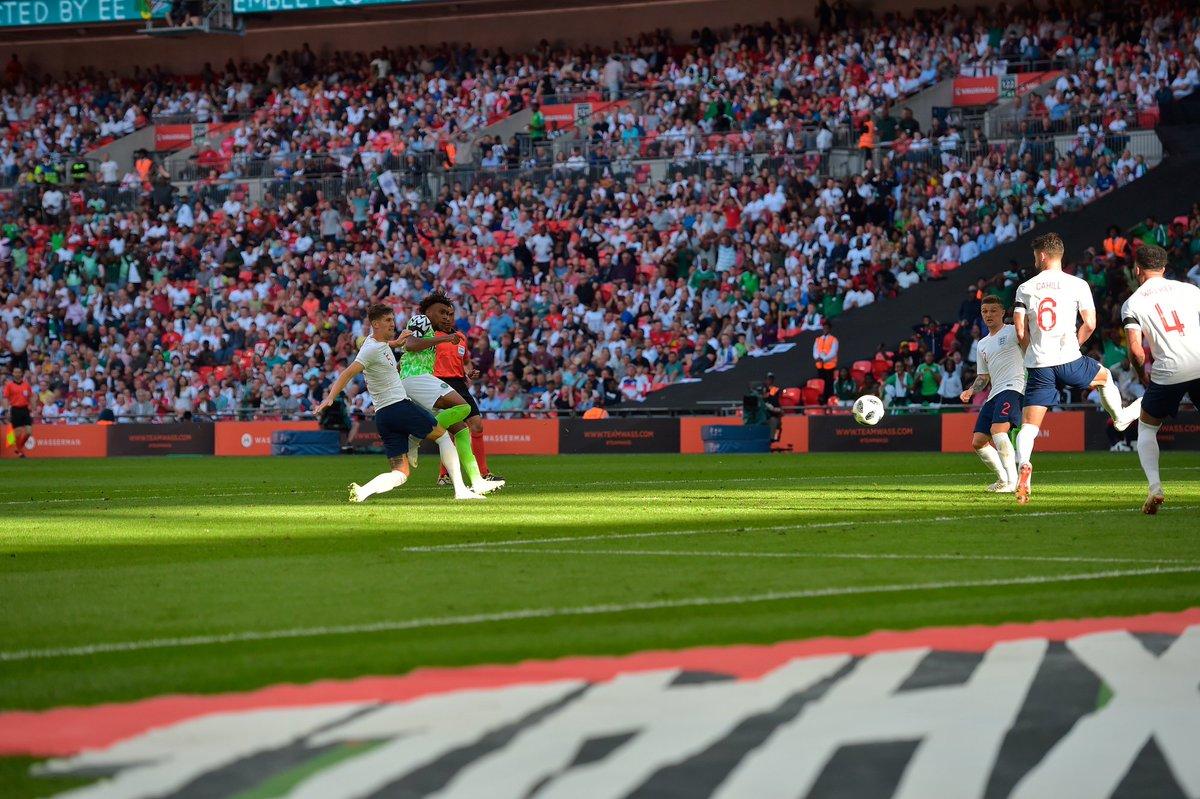 GIF:伊沃比进球,尼日利亚扳回一球
