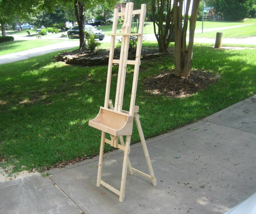 Instructables On Twitter Build An Art Easel On The Cheap