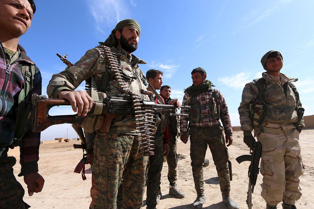 قوات سوريا الديمقراطيه ( قسد ) .......نظرة عسكريه .......ومستقبليه  DetLCN2WkAEmtk-