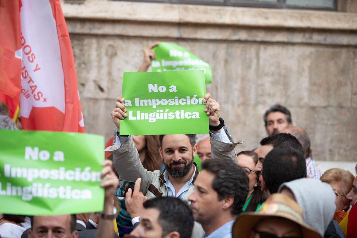 ABASCAL SUPERARA A SANCHEZ, CASADO Y RIVERA CON EL MITIN CON MAS AFORO DE LAS ELECCIONES VALENCIANAS