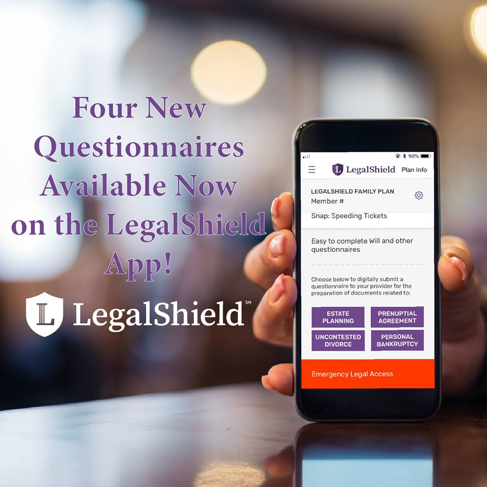 Legalshield On Twitter Check Out The Additional Questionnaires Now