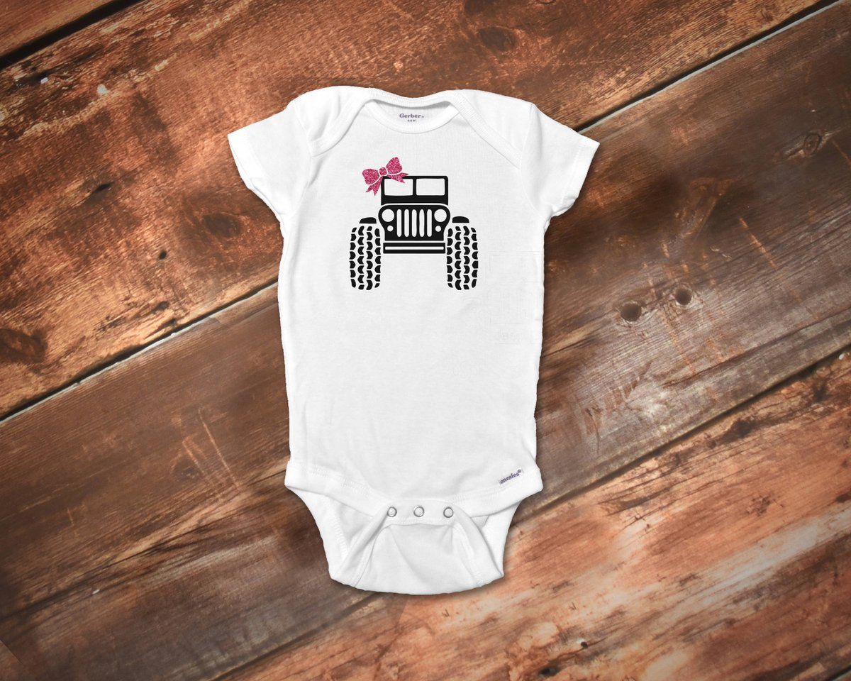 d85bf6b8 Jeeper Baby Girl Onesies®, Girl Funny Baby Onesies®, Baby Onesies®, Baby  Girl Truck Onesies®, Cute Baby Girl Clothes, Jeeper Girl Clothes ...