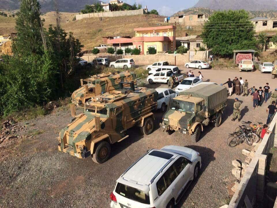 الجيش التركي يتوغل 27 كيلومترًا داخل الأراضي العراقية DetYkY6X0AAMlsX