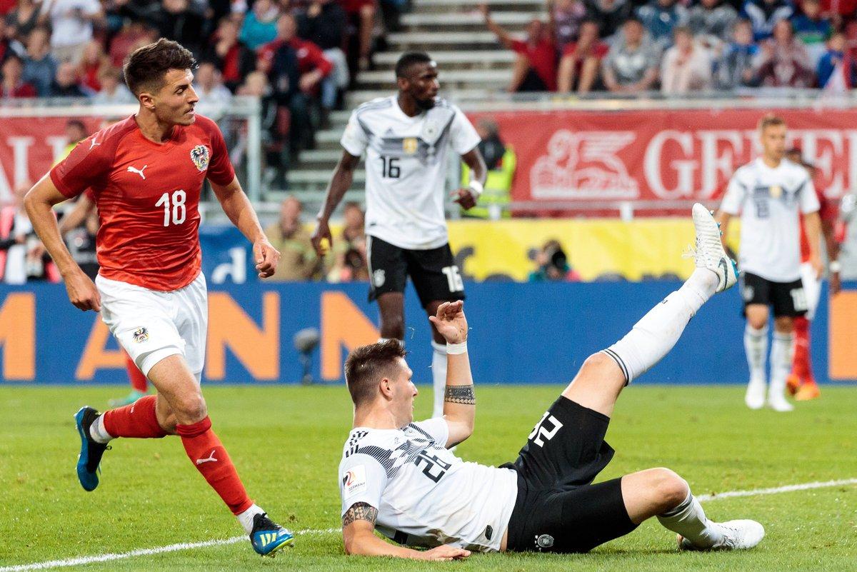 Австрия - Германия 2:1. Нойер вернулся, но не спас бундестим от заслуженного поражения - изображение 3