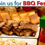 Image for the Tweet beginning: BBQ Fest featuring unlimited ribs