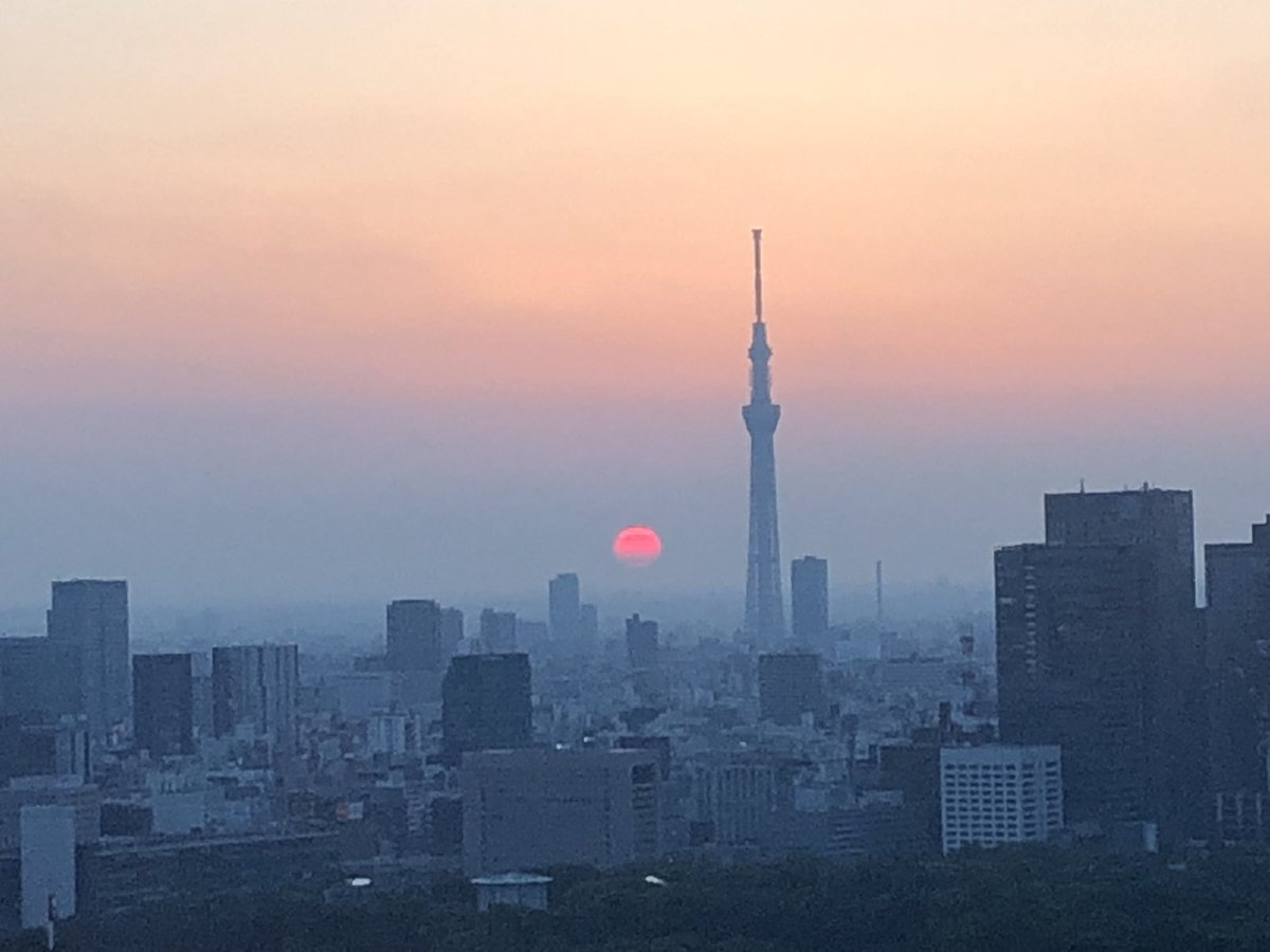 Day 2. Spiritual rejuvenation starting from #sunrise. Let @AirCanada take you from #Montreal to #Tokyo to experience this satisfaction. #ThePrinceGalleryTokyoKioicho #IyashiTabi #flytheflag #ilovejapan @jntocanada pic.twitter.com/RaBJ6HXHOi