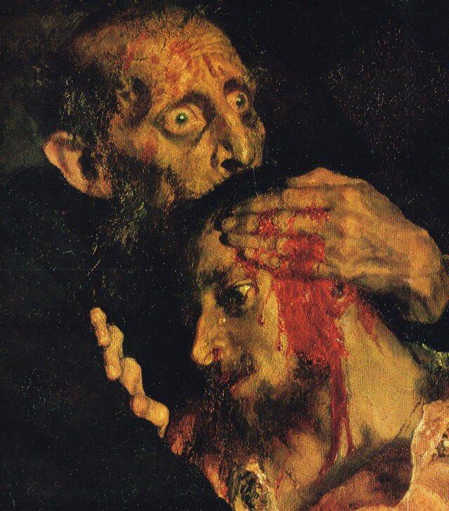 Αποτέλεσμα εικόνας για ivan the terrible and his son painting
