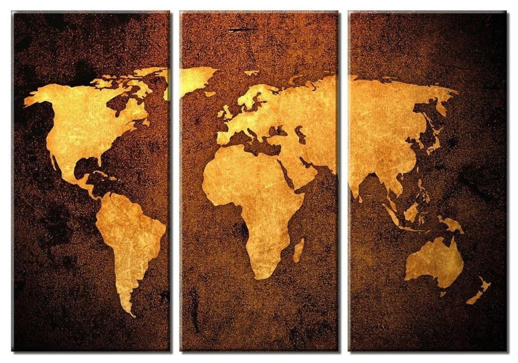 Onlmaps on twitter framed huge 3 panel world map canvas art https never miss a moment gumiabroncs Gallery