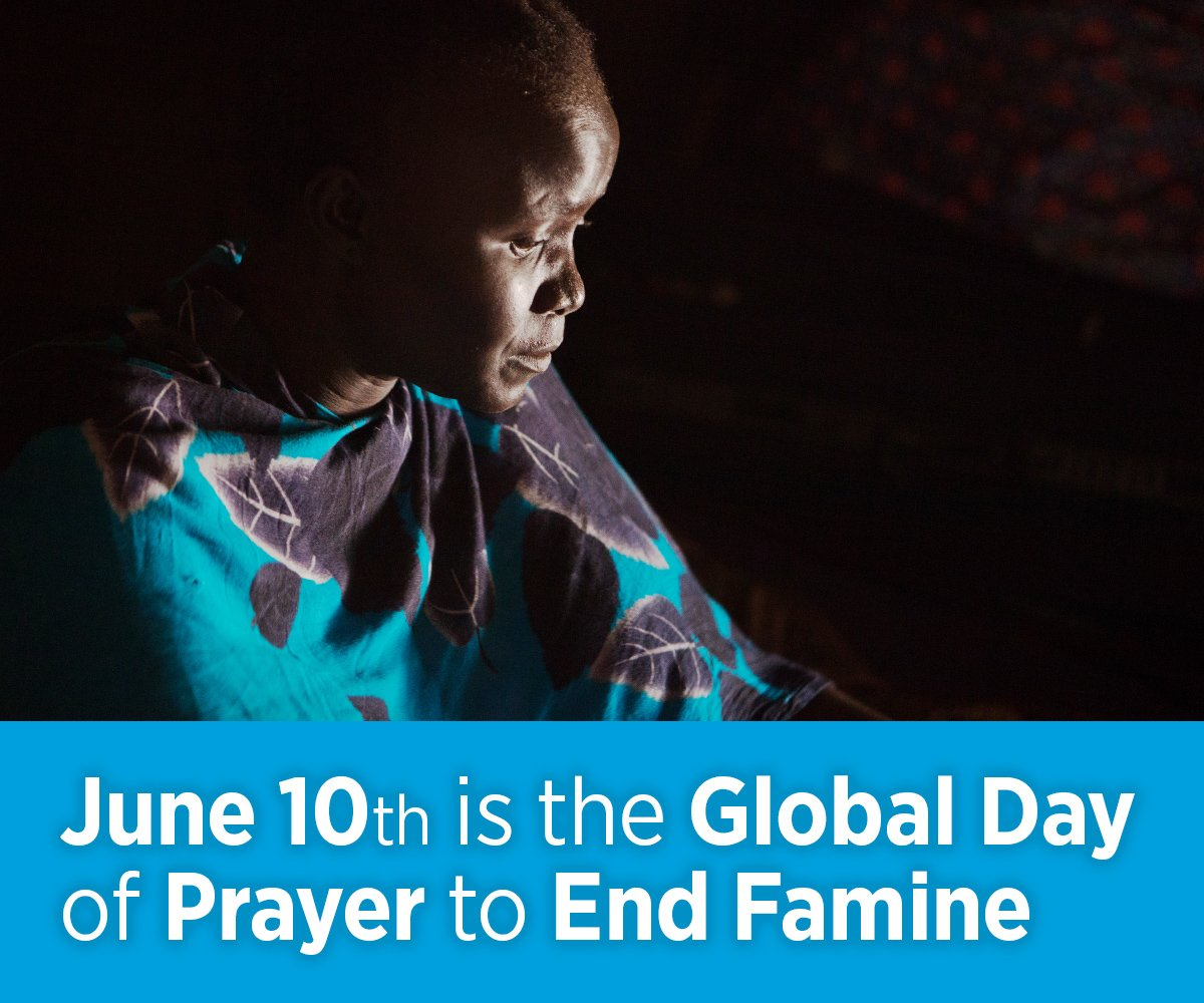 Join Christians around the world and pray for the millions of people who  are suffering from extreme hunger  http   ow.ly JqIw30kiBBX   praytoendfamine ... 344e3c20c684