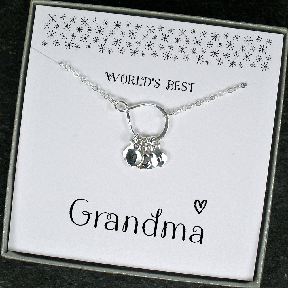 Starring You Jewelry On Twitter Grandma Necklace Personalized