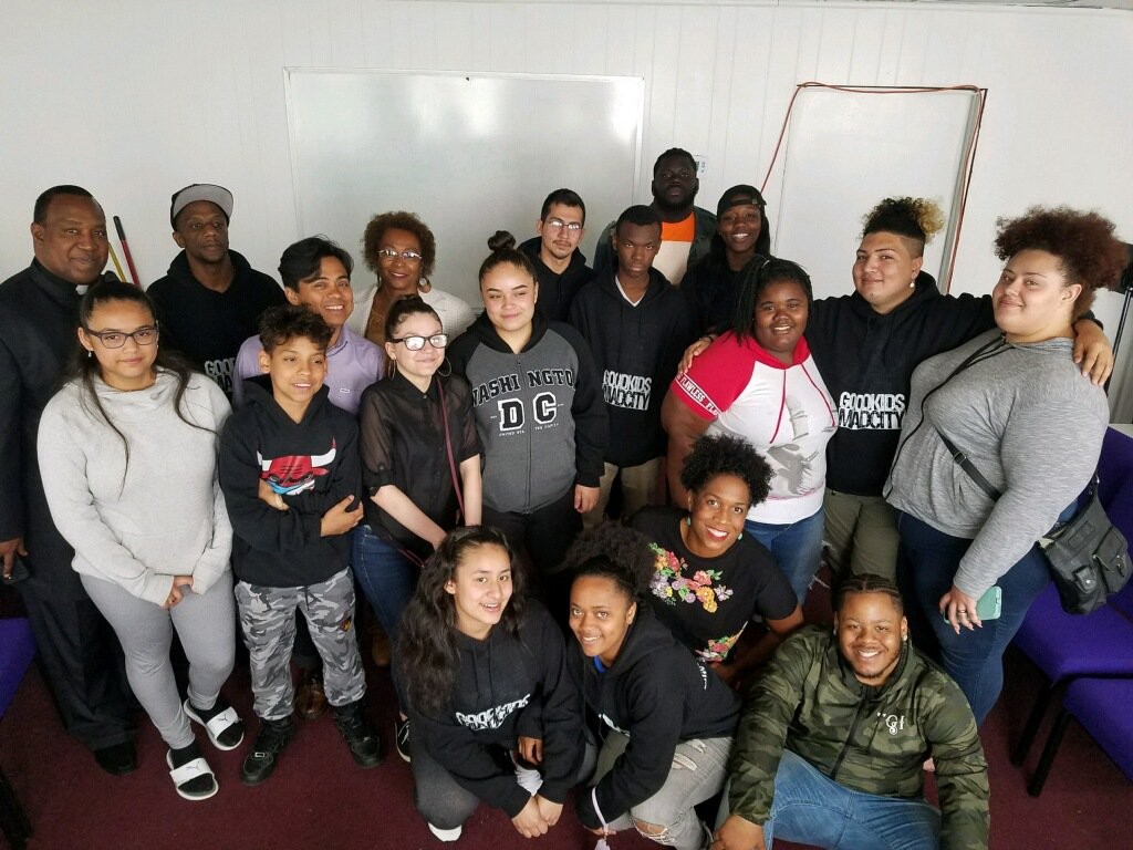 c806eefdd1d It was inspiring to meet and have a roundtable discussion with members of   VOYCEProject and  CommsUnited. These young people are engaged and ready to  fight ...