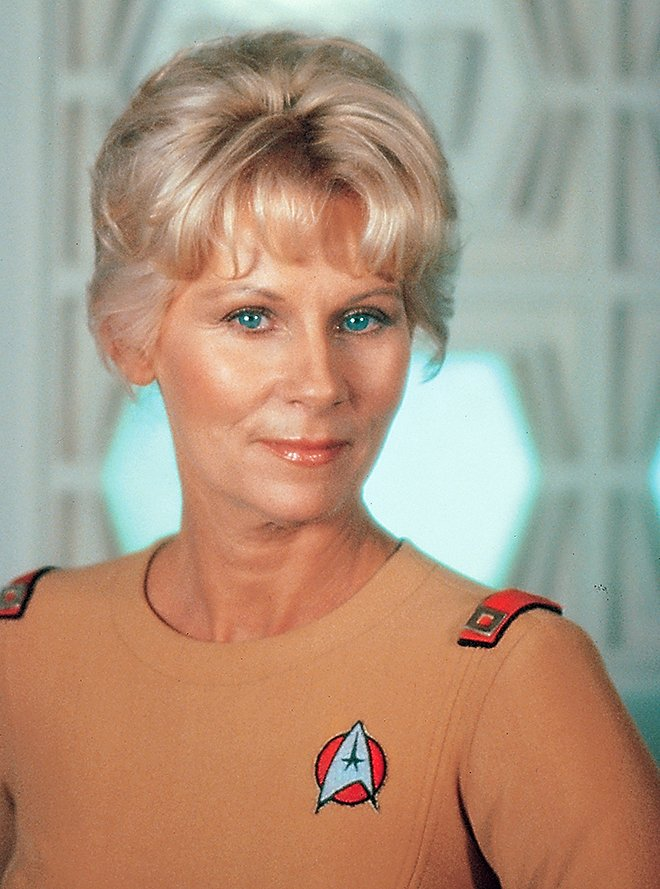 Trekcore On Twitter Grace Lee Whitney As Transporter Chief