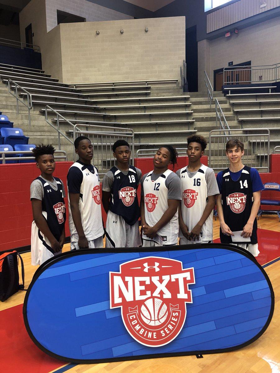 Way to represent Oklahoma fellas! Great day at the UA Next Combine in Dallas. @OklahomaRunPWP @TeamGriffinMS @the2kferguson @ballislifeJJ23 @uanextcombines @UAbasketball @PrepHoopsOK
