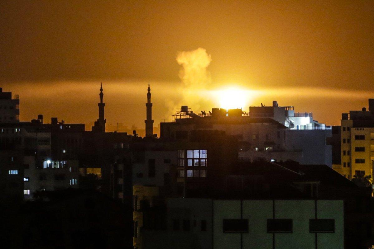 #Israele bombarda postazioni #Hamas https://t.co/t1PvnHlQ9n