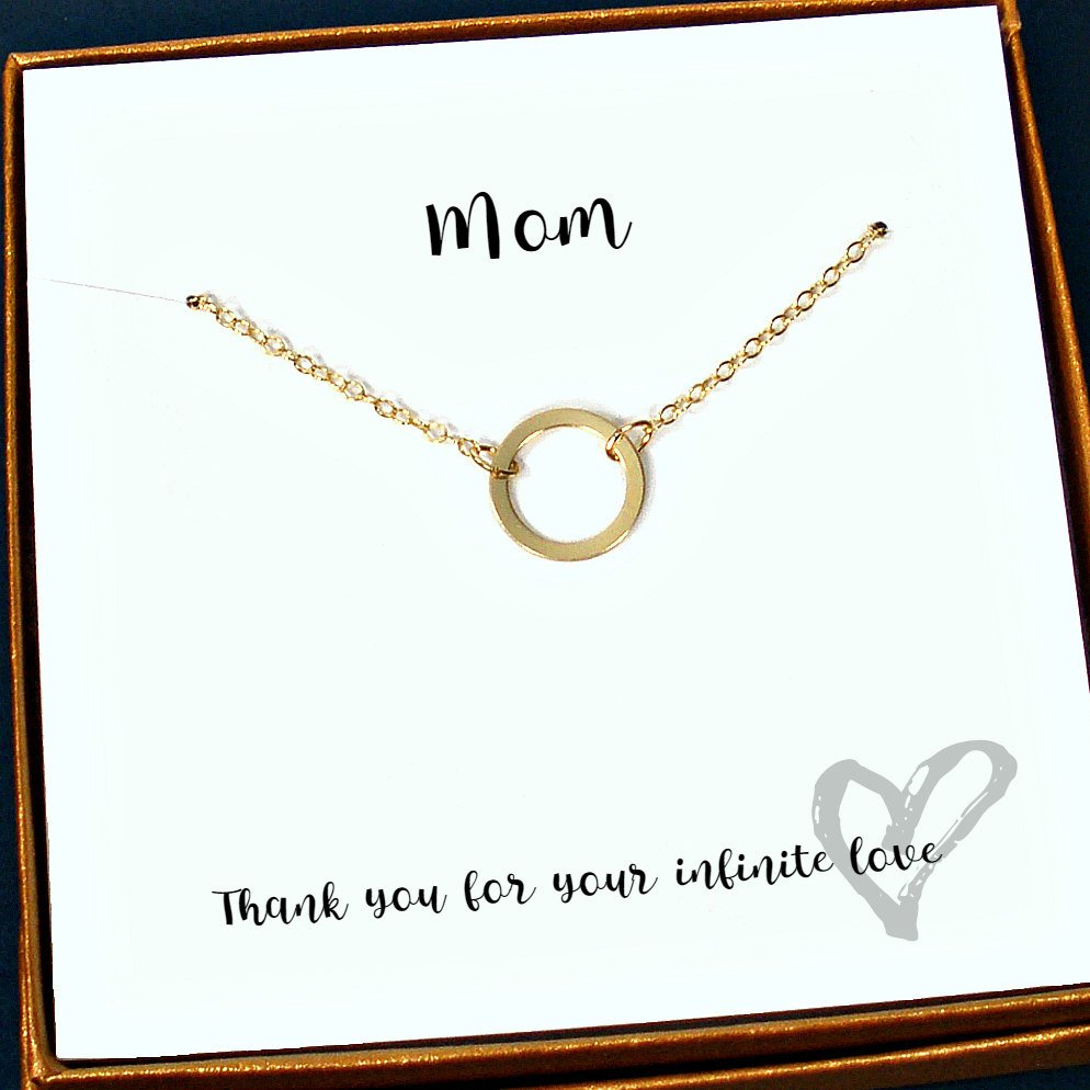 Birthday Gift Mothers Day Meaningful Necklace Thank You For Mom Jewelry With Card Message Tuppu C758606f Epiconetsy
