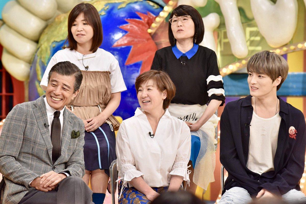 6月12日(火)放送のスタジオゲストの写真が到着しました✨舘ひろしさん、ジェジュンさんは初登場です