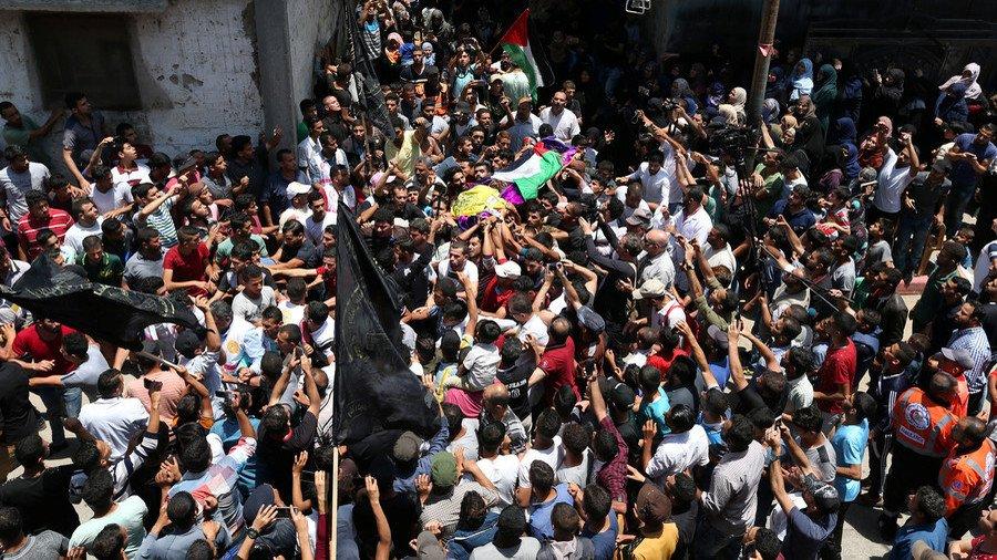 'It wasn't a random bullet': #Palestinians mourn 21yo paramedic as #Israel blames #Hamas https://t.co/BZwI6dDs64