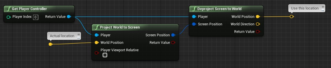 Cory spooner on twitter random ue4 tip if you want to draw debug points or lines in blueprint in game without it being occluded by geometry you can hack the draw location like this it gets dof applied malvernweather Gallery