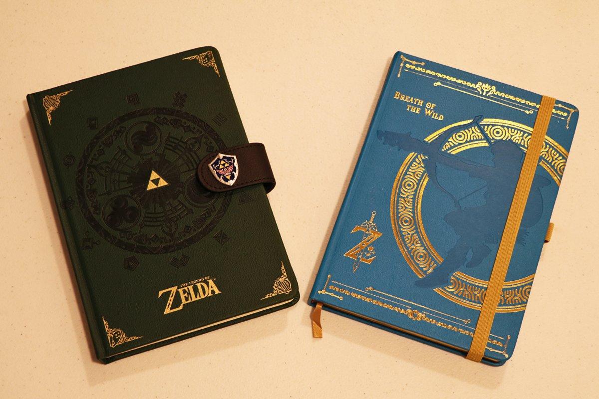 The Legend Of Zelda Notebook A5 Premium Breath of the Wild
