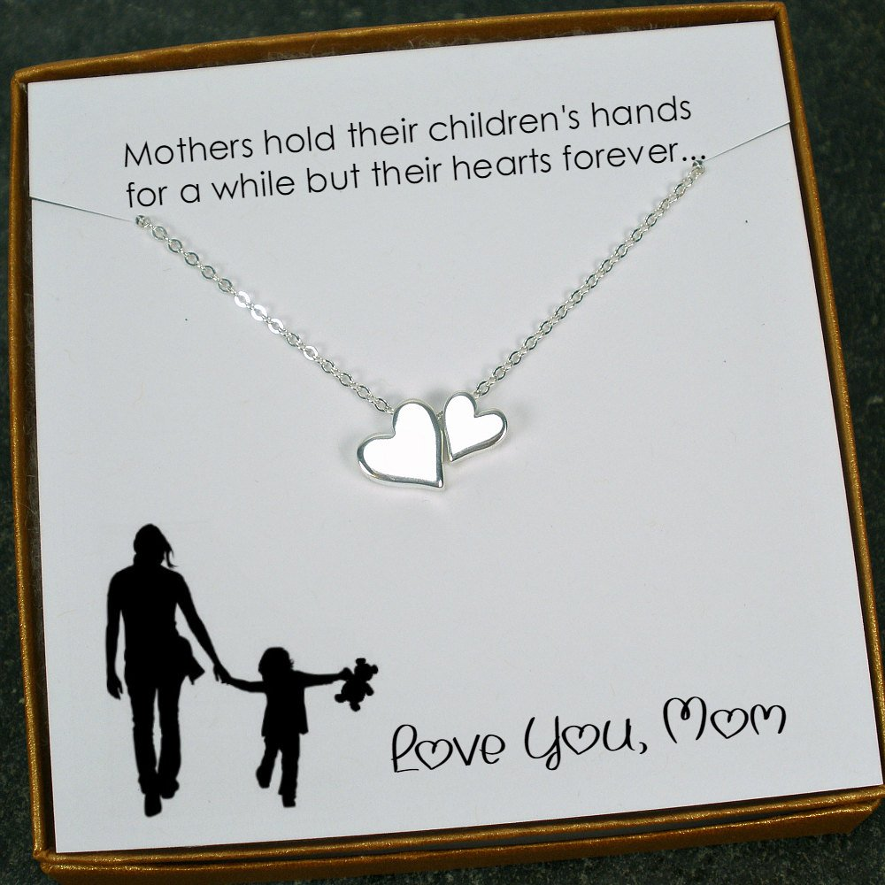 Mom Gifts Necklace For From Daughter Son Birthday Gift Mothers