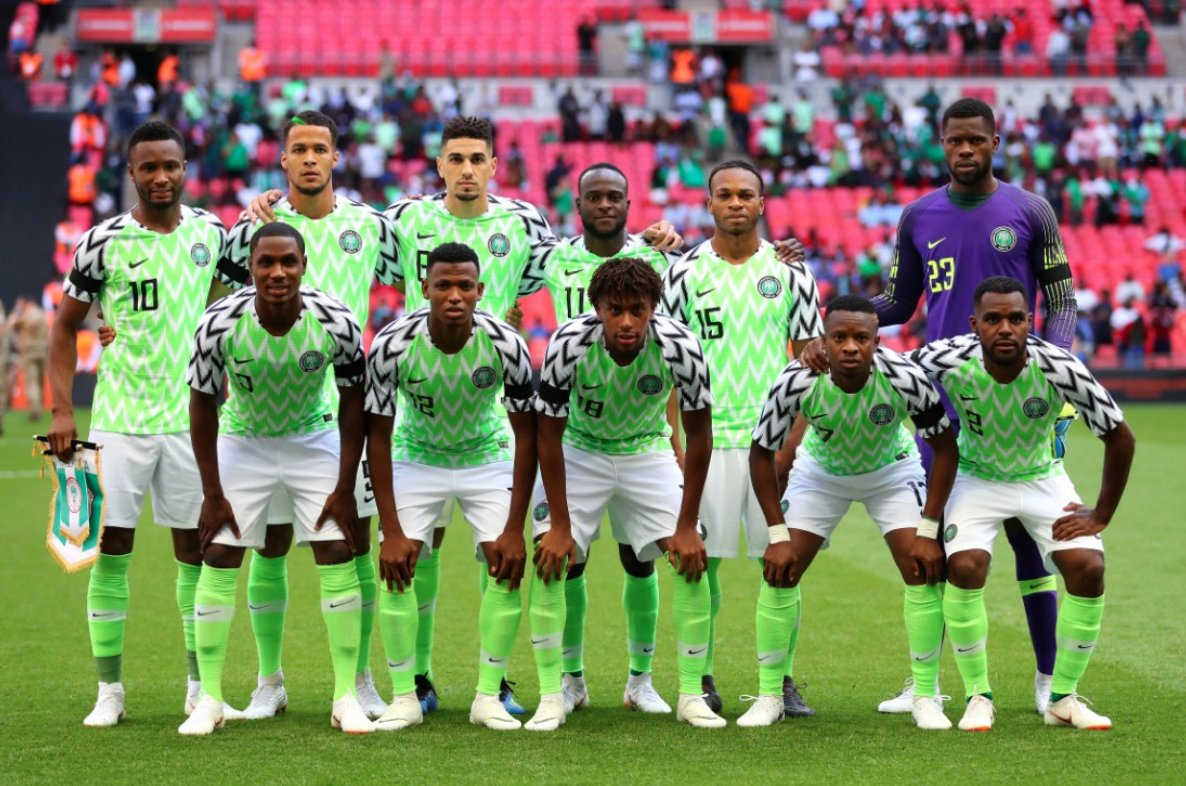 Believe! Better days ahead. Thanks for the support & love. 🇳🇬⚽💪 #SoarSuperEagles