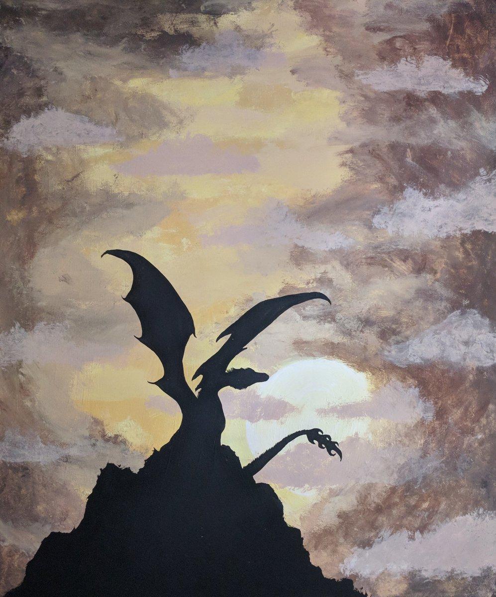 Good Night Fantasy Art