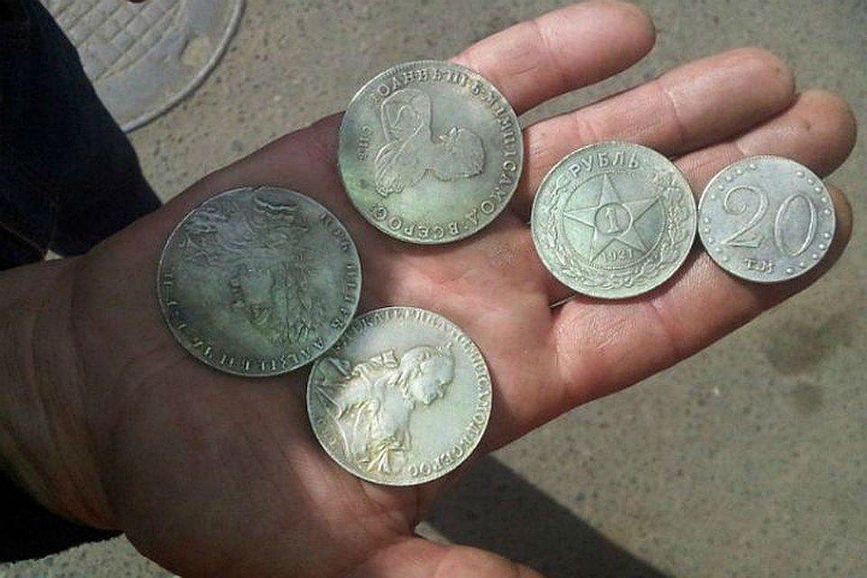 изготавливаем сувенирные старинные монеты подделки фото срез