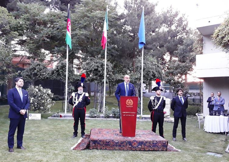 The Italian commitment in Afghanistan at the core of the celebrations of the National Day in Kabul 🇮🇹 | Read more here: is.gd/3FwQGW