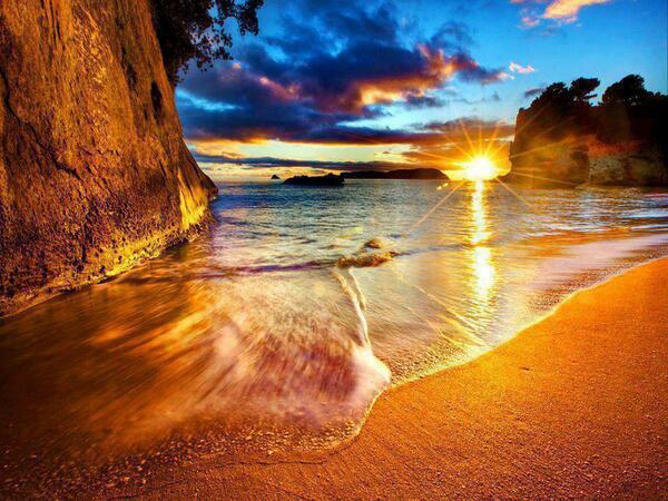 カセドラルコーブ(ニュージーランド)