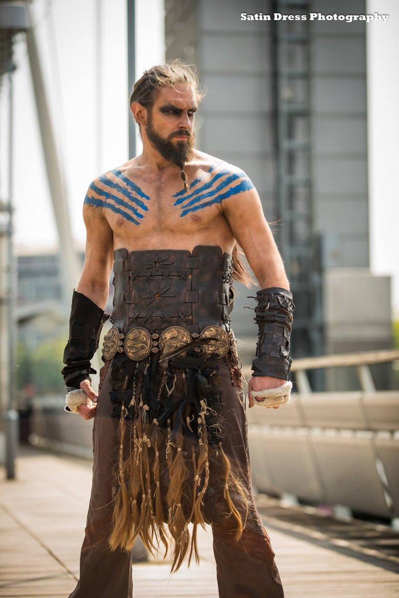 King Tide On Twitter My Khal Drogo Cosplay Photo By Satin Dress Photography Khaldrogo Jasonmomoa