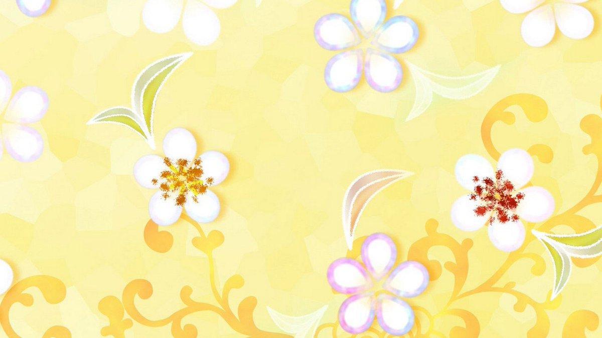Wallpapers Cute On Twitter Yellow Flower Desktop Backgrounds