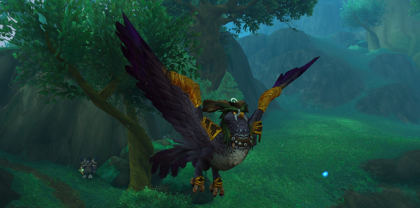Druid class hall flight form