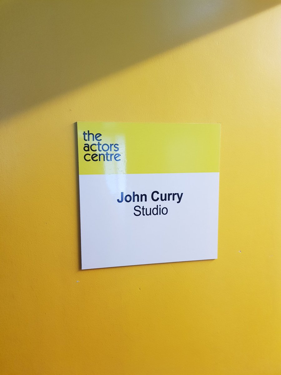Second day @theActorsCentre training to be a TV Presenter with the fantastic Kathryn Woolfe. Looking forward to seeing back the footage #TV #London