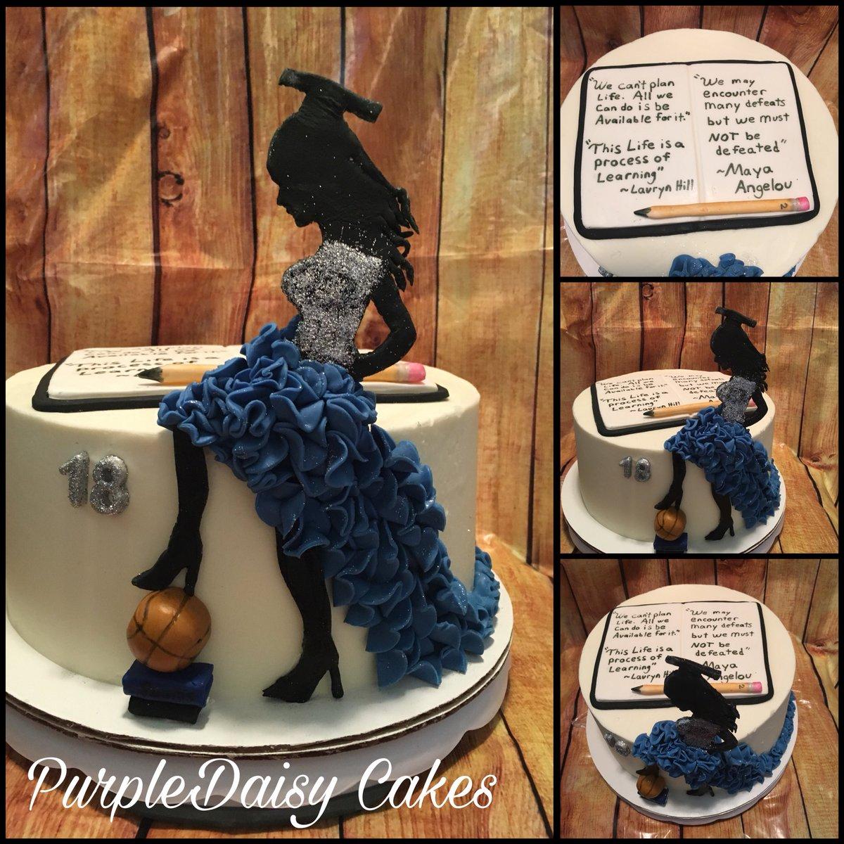 Admirable Alicia On Twitter Graduation Birthday Cake White Cake With Personalised Birthday Cards Akebfashionlily Jamesorg