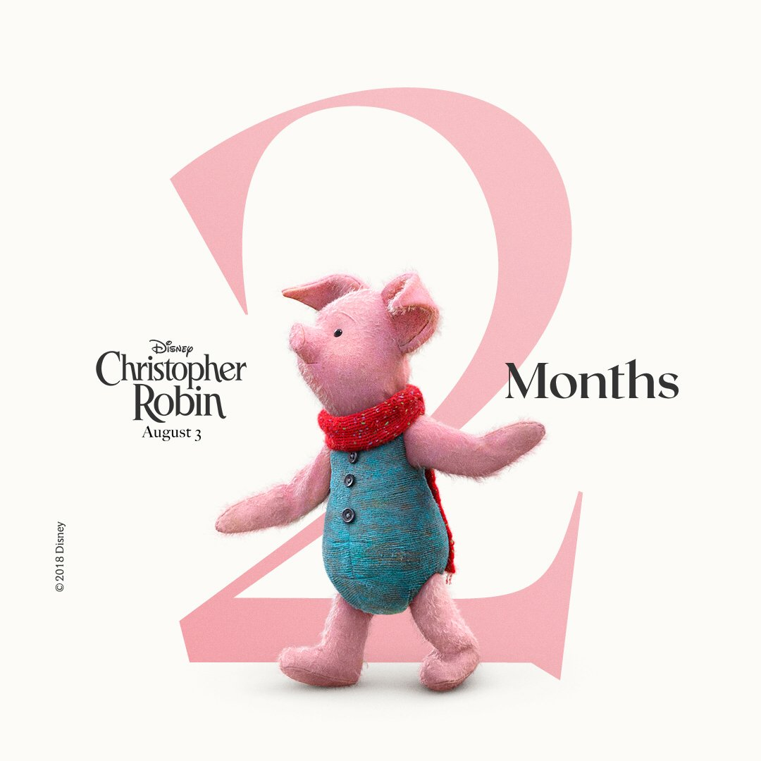 el capitan theatre on twitter just 2 months away see rh twitter com Winnie the Pooh Christopher Robin 2018 Christopher Robin 2018 Adult Christopher Robin