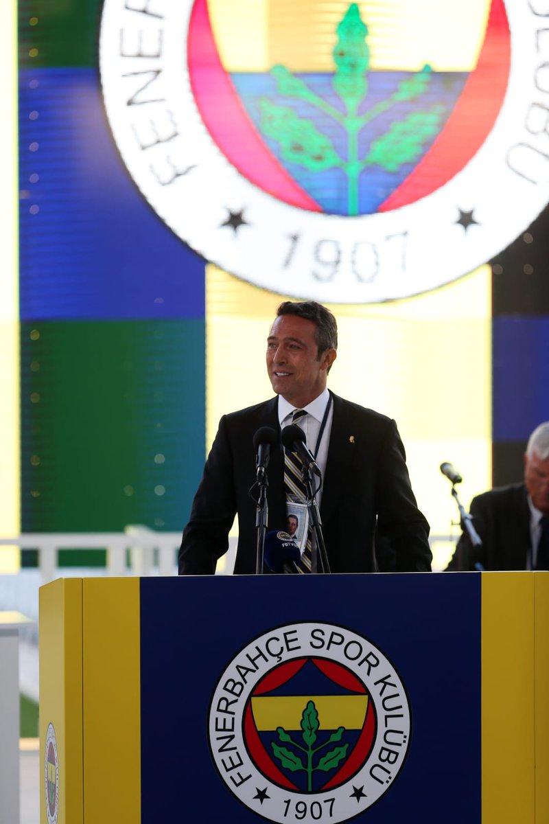Seçimli Olağan Genel Kurulumuzda 16.092 oy alan Sayın Ali Yıldırım Koç Kulübümüzün 37. Başkanı seçilmiştir.