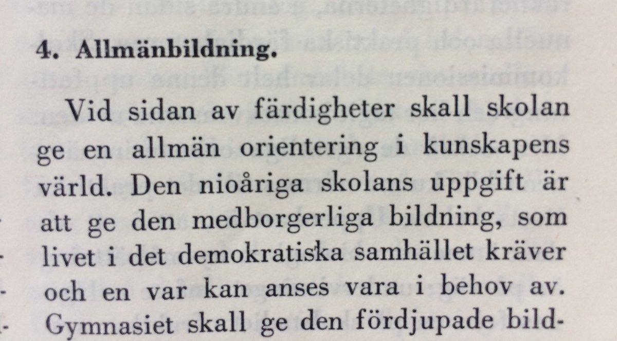 1946 års skolkommission Göran von Sydow on Twitter: