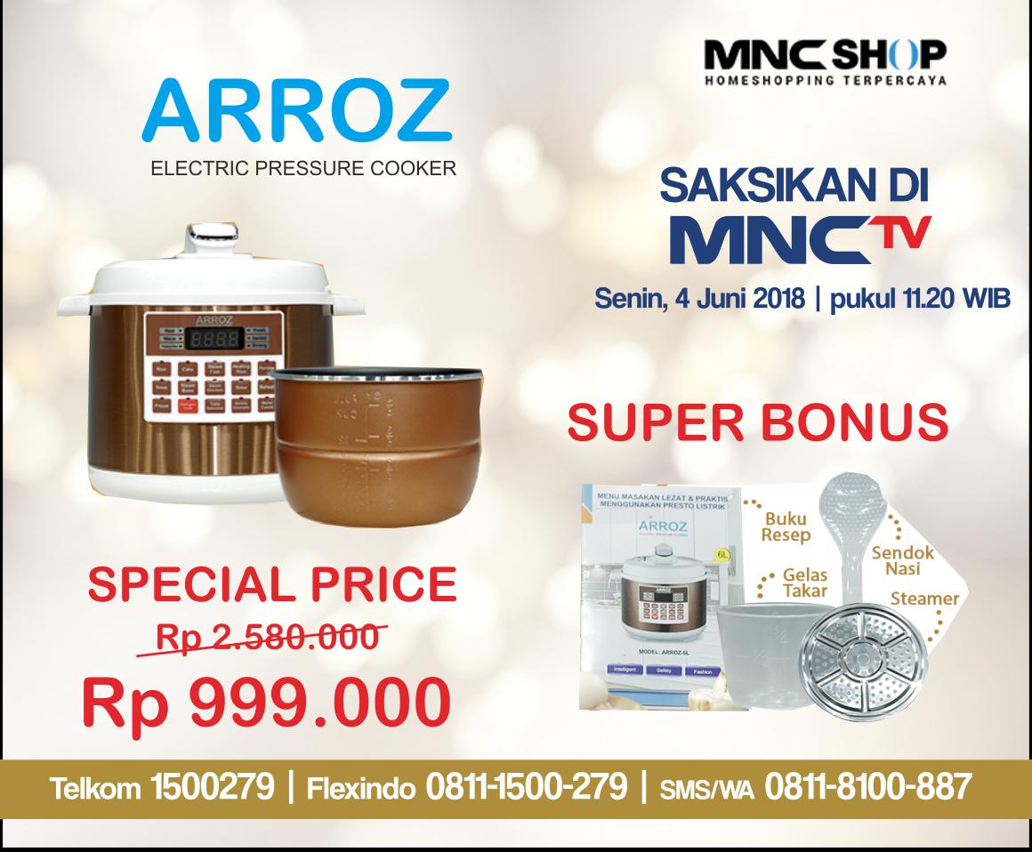 Hasil gambar untuk Arroz Pressure Cooker mnc shop