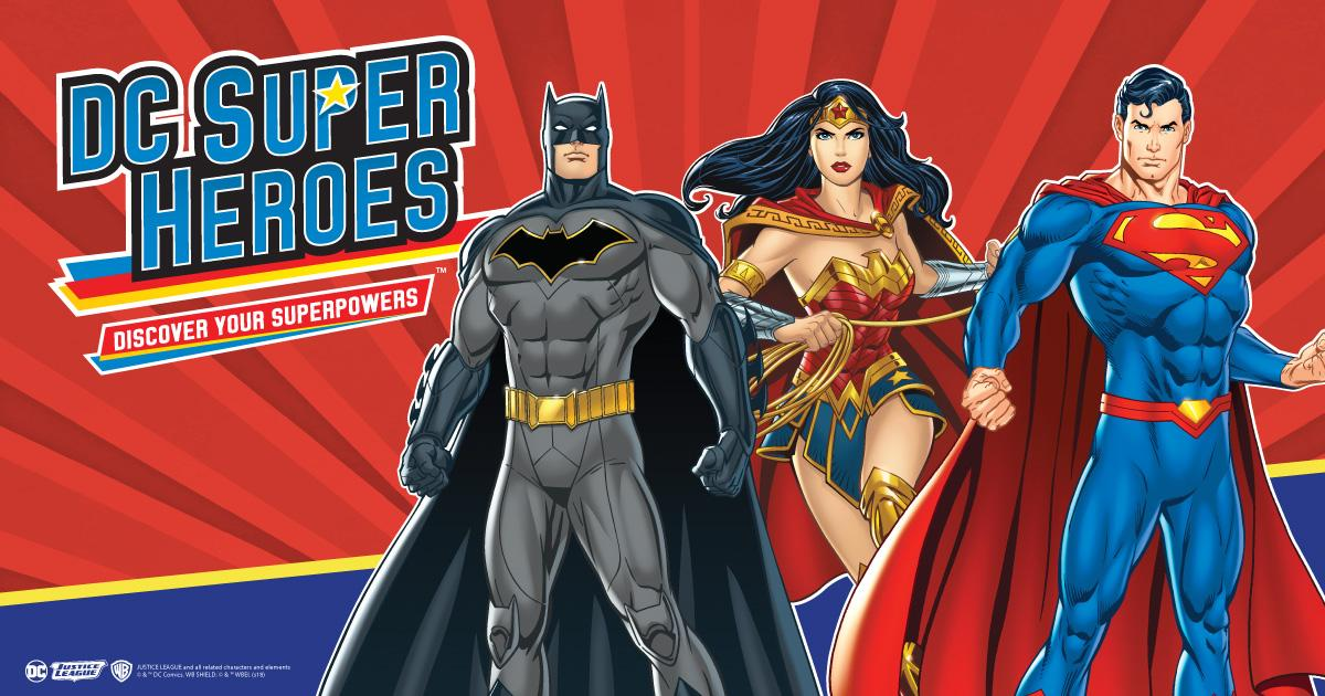 Image result for DC SUPERHEROES: DISCOVER YOUR SUPERPOWERS