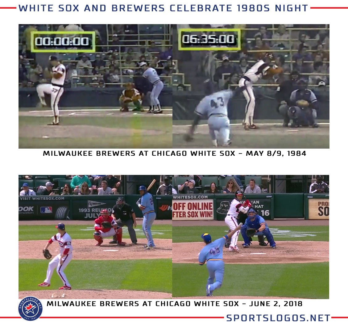 206b4c32e More pics here: http://news.sportslogos.net/2018/06/03/photos-white-sox- brewers-throw-back-to-1983/ …pic.twitter.com/H7wIgY5t1e