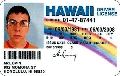 Happy Birthday, McLovin! The 37-year old, Hawaiian organ donor.