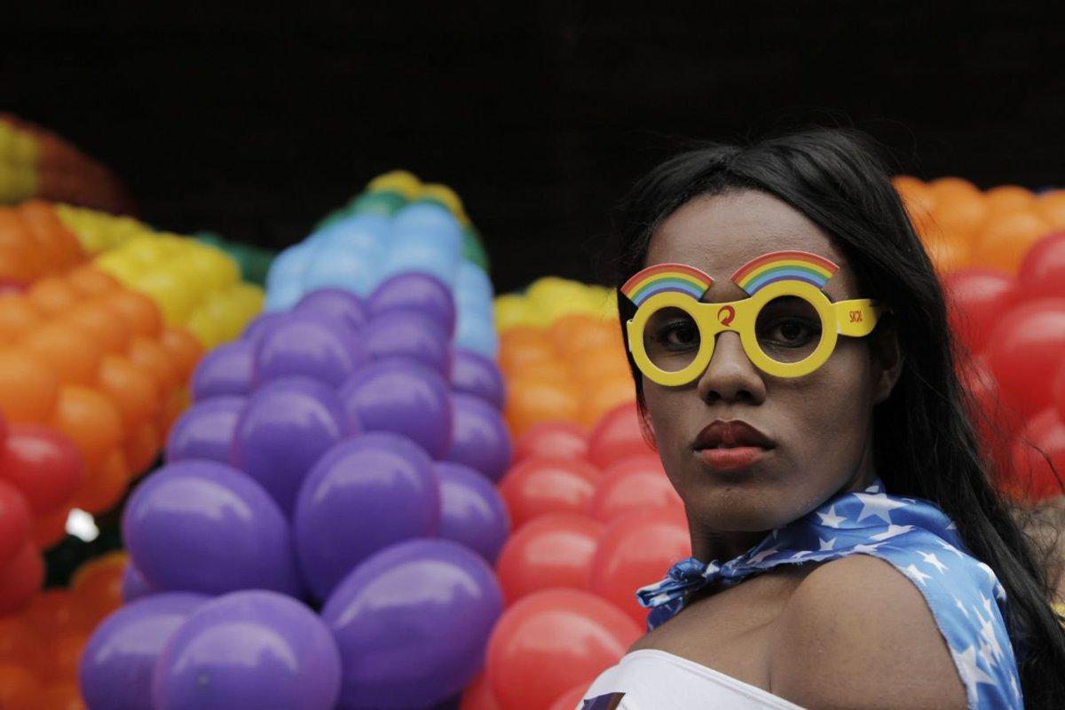 O amor vence o ódio. Começa a #ParadaSP 2018  Foto Thallita Oshiro / Jornalistas Livres