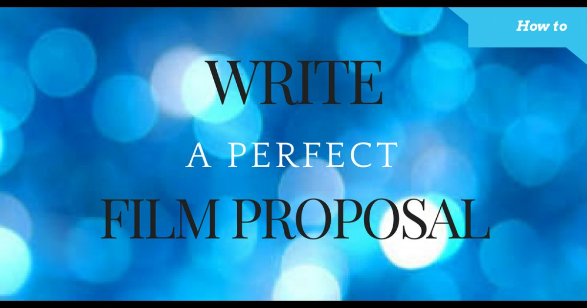 Filmcontact Com On Twitter Film Proposal Template To Write A Film