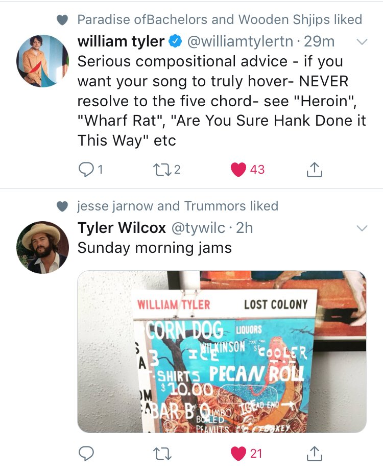 William Tyler On Twitter Serious Compositional Advice If You