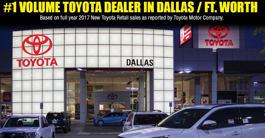 Toyota Dealerships Dfw >> Toyota Of Dallas On Twitter Need A New Dealership To Call Home