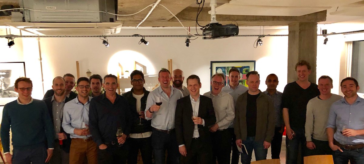 #tbt to an amazing @8roadsventures dinner on scaling #saas businesses from Europe. learnt a ton! #europeantech