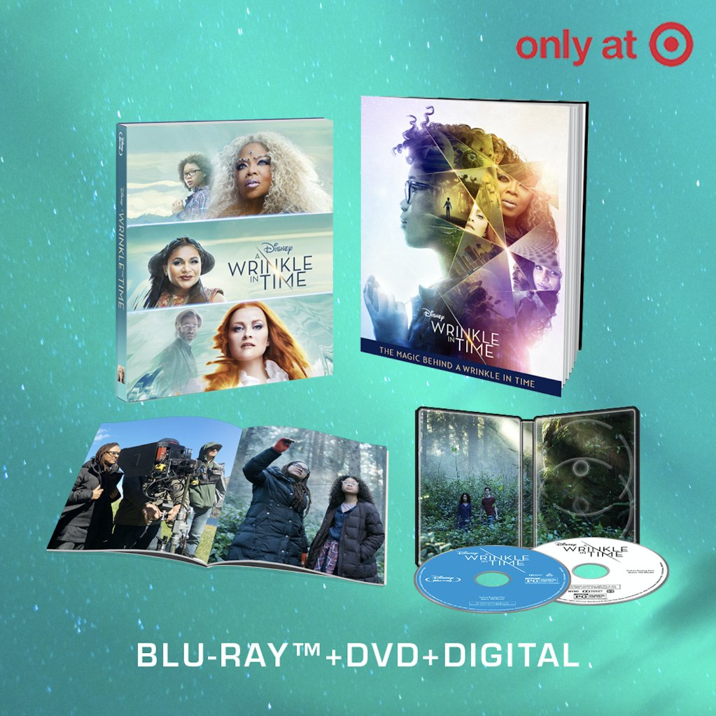 Bring home A #WrinkleInTime with the Filmmaker Gallery Book, available only at @Target for a limited time. Pre-order now: di.sn/6002D9eeC